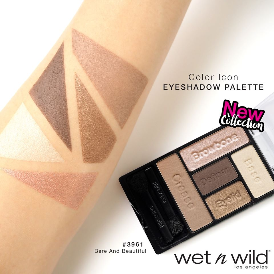 Wet n Wild Creme Brulee Color Icon Eyeshadow Dupe for Bare