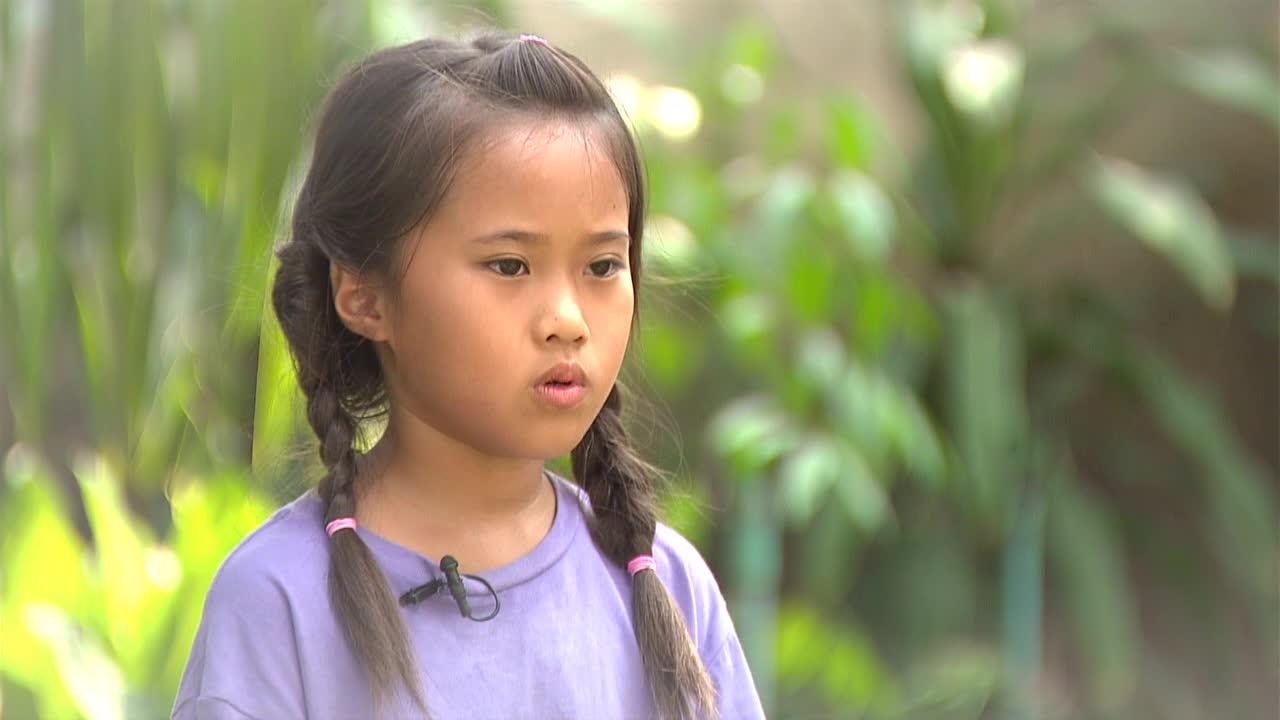 พุทธวจน ด.ญ.ปารุดา สุวรรณนิคม  (น้องเกรซ) อายุ 9 ปี