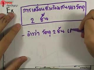 การเคลื่อนที่เชิงเส้น ข้อ 31 ตะลุยโจทย์ กลศาสตร์