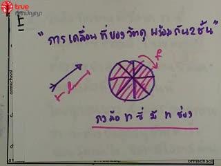 การเคลื่อนที่เชิงเส้น ข้อ 32 ตะลุยโจทย์ กลศาสตร์
