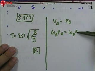 การเคลื่อนที่แบบ SHM ข้อ 5 ตะลุยโจทย์ กลศาสตร์
