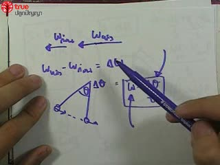 การเคลื่อนที่แบบหมุน ข้อ 1 ตะลุยโจทย์ กลศาสตร์