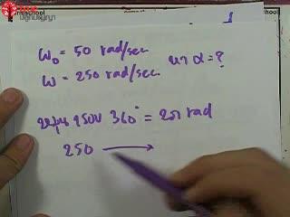 การเคลื่อนที่แบบหมุน ข้อ 4 ตะลุยโจทย์ กลศาสตร์
