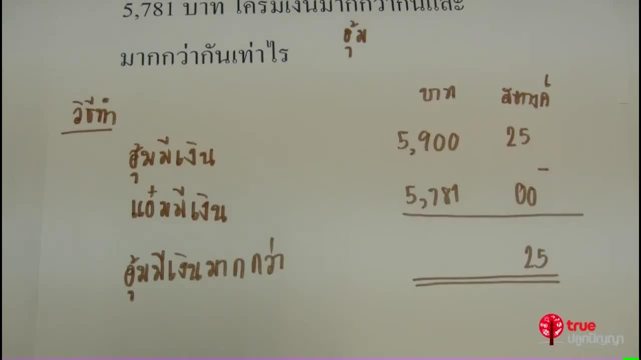 เงิน ป.3 ตอนที่ 7