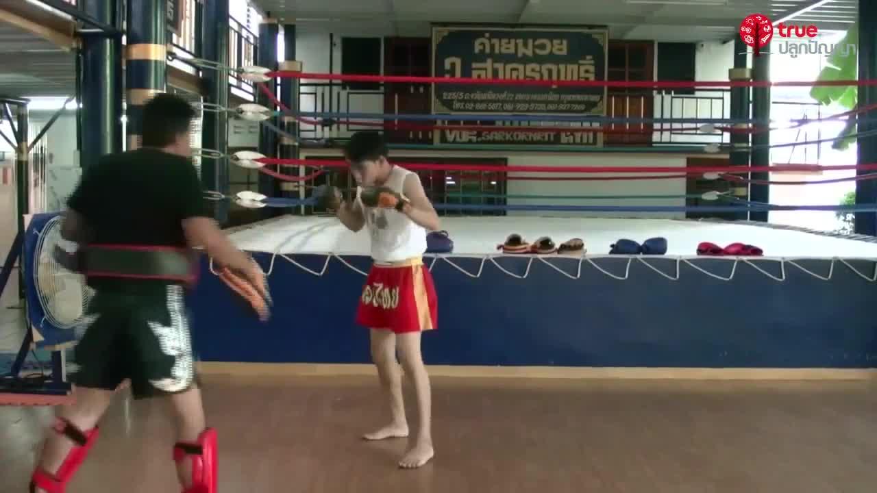 ศิลปะมวยไทย ตอนที่ 1 รู้จักมวยไทย/ ท่ายืนมวย