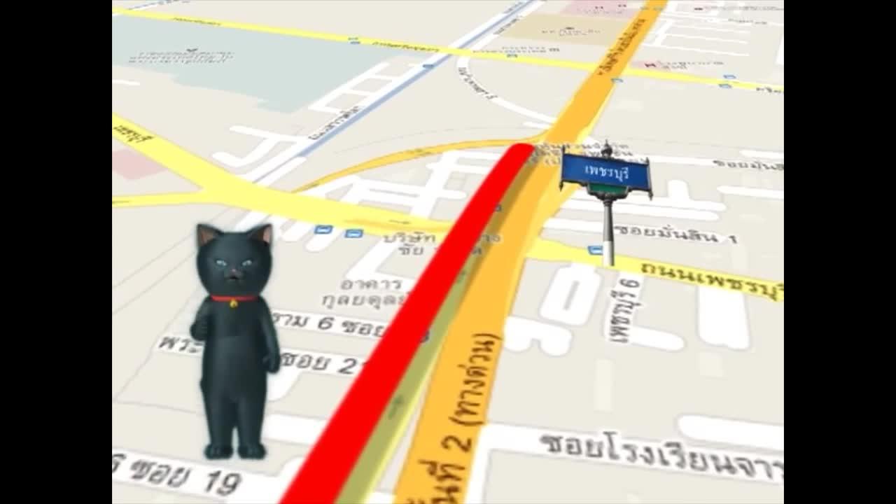 แมวเหมียวเล่าเรื่องไทย ตอน ถนนพระรามที่หก