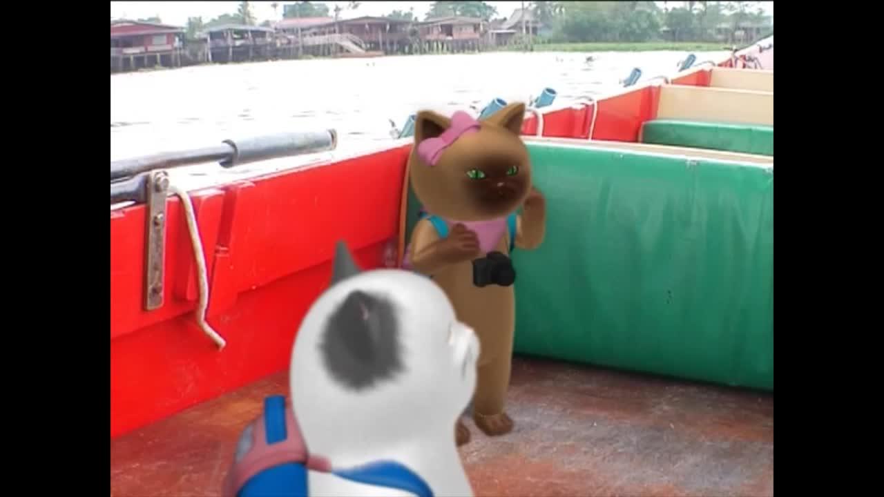 แมวเหมียวเล่าเรื่องไทย ตอน สะพานพระรามสี่
