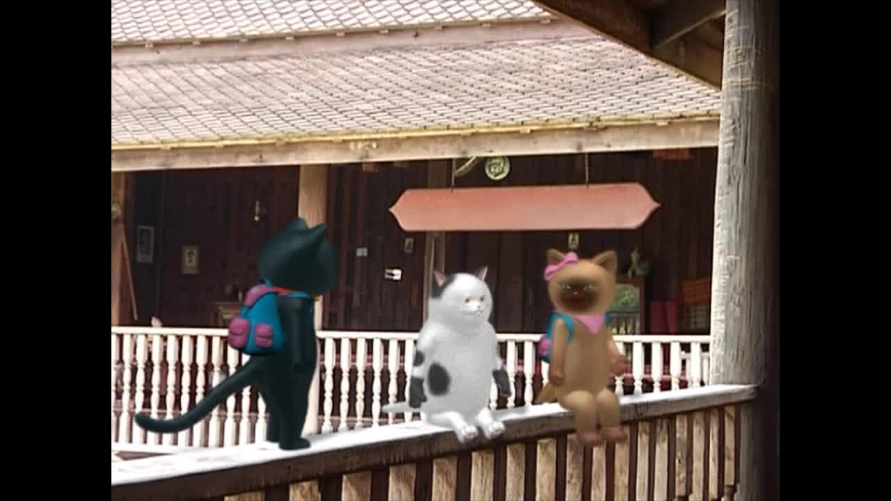 แมวเหมียวเล่าเรื่องไทย ตอน กินเมือง