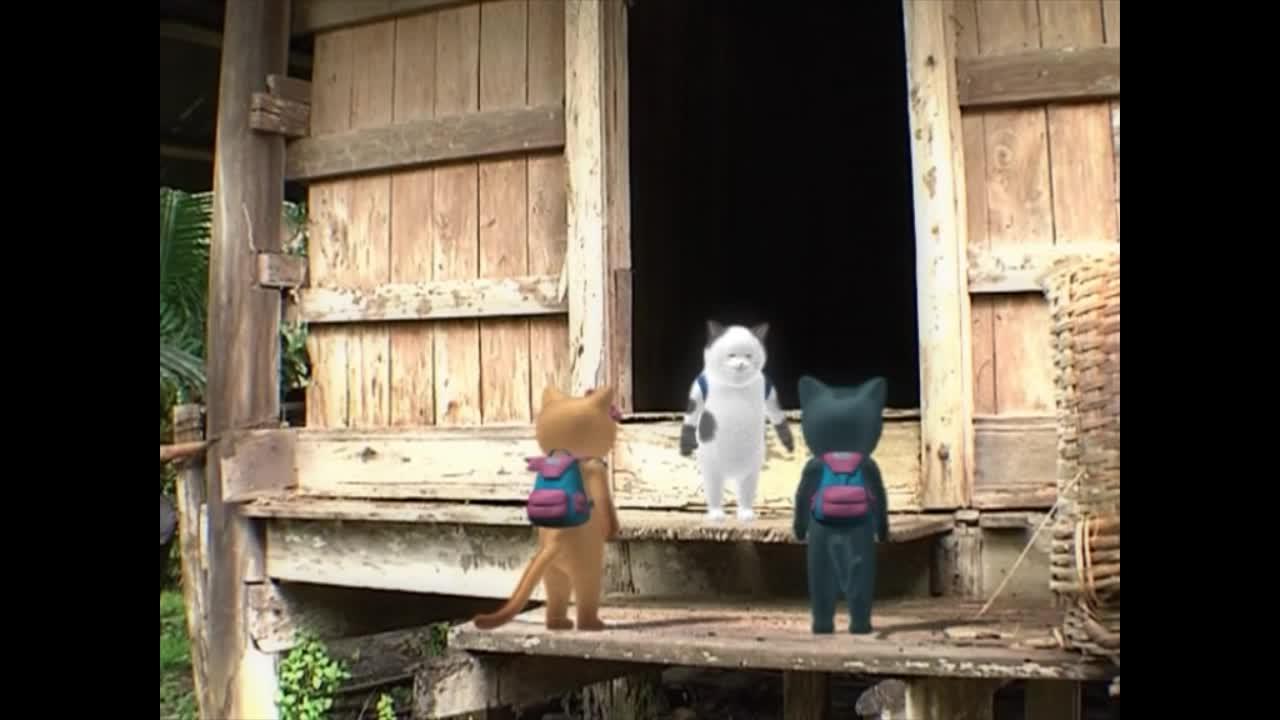 แมวเหมียวเล่าเรื่องไทย ตอน ยุ้งฉาง