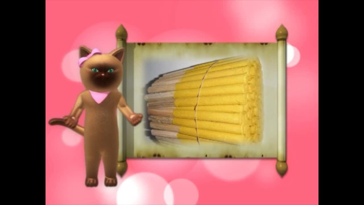 แมวเหมียวเล่าเรื่องไทย ตอน ธูปแพเทียนแพ