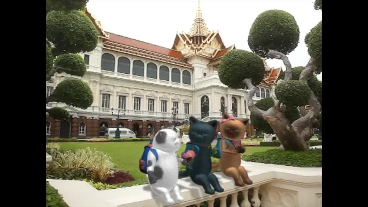 แมวเหมียวเล่าเรื่องไทย ตอน พระกลด