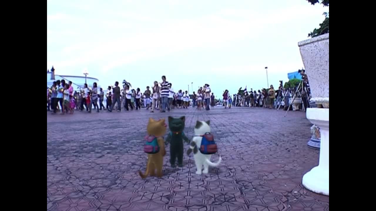 แมวเหมียวเล่าเรื่องไทย ตอน เวียนเทียน เดินเทียน