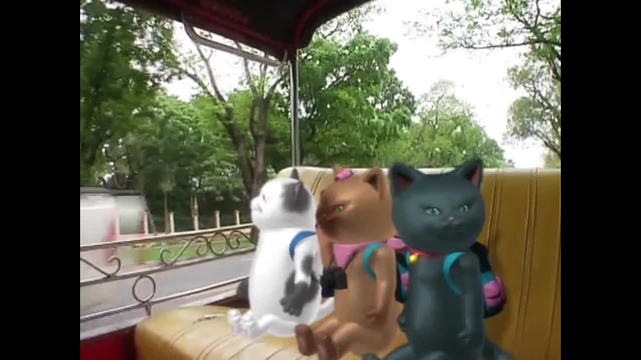แมวเหมียวเล่าเรื่องไทย ตอน ถนนพระรามที่ห้า
