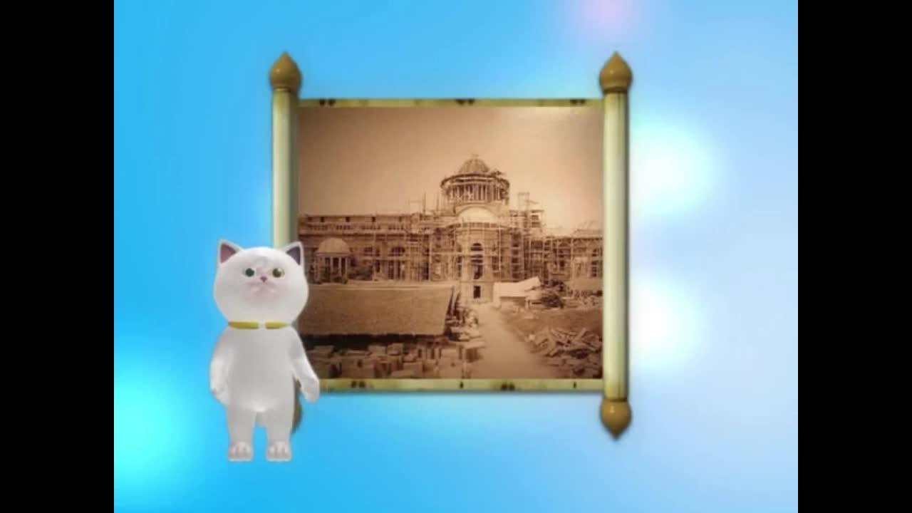 แมวเหมียวเล่าเรื่องไทย ตอน ถนนราชดำเนิน