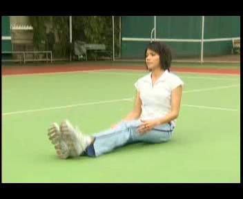 การยืดกล้ามเนื้อก่อนและหลังการเล่นเทนนิส ตอนที่ 2