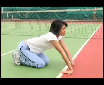 การยืดกล้ามเนื้อก่อนและหลังการเล่นเทนนิส ตอนที่ 3