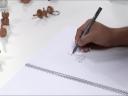 ศิลปะการเล่นกับเส้น ตอนที่ 1 วาดเส้นโดยไม่มองกระดาษ