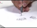 ศิลปะการเล่นกับเส้น ตอนที่ 2 วาดเส้นโดยไม่ยกปากกา