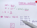 SAT Math - Word Problem 1