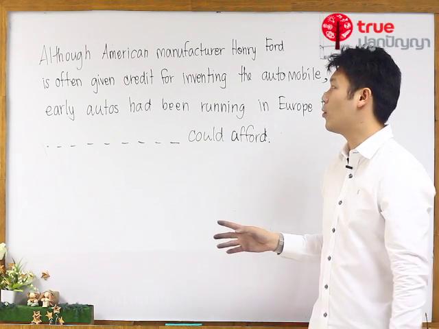 สรุปเนื้อหาและเทคนิคการทำข้อสอบ TU-GET & CU-TEP ตอนที่ 11