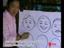 การวาดภาพหน้าคนแสดงอารมณ์ต่างๆ