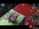 ดอกบัวจากถ้วยพลาสติก ตอน 2-2