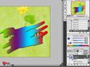 Photoshop : Text part 4 - ตัวอักษรหลากสี & ตัวอักษรสามมิติ