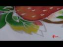 เทคนิคการเขียนผ้าบาติกรูปผลไม้