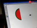 วาดภาพแตงโม ด้วยโปรแกรม Paint