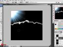 Photoshop : lighting - ทำภาพสายฟ้า