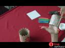 กล่องเอนกประสงค์จากแกนกระดาษทิชชู