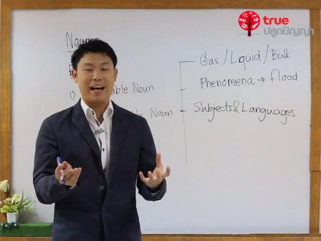 ภาษาอังกฤษ ม.ต้น Part of speech : Noun ตอนที่ 1