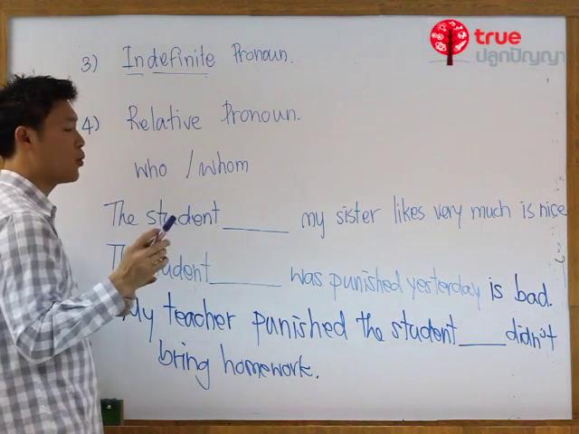ภาษาอังกฤษ ม.ต้น Part of speech : Pronoun ตอนที่ 2