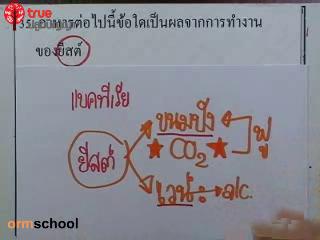 ข้อสอบวิทย์ เข้าม.1 โรงเรียนรัฐบาล ชุดที่ 1 ข้อที่ 35