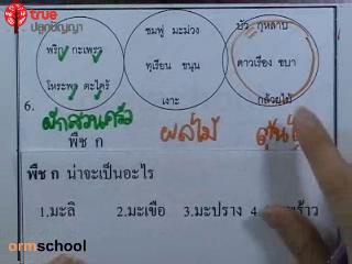 ข้อสอบวิทย์ เข้าม.1 โรงเรียนรัฐบาล ชุดที่ 2 ข้อที่ 6-7