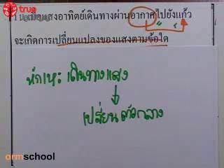 ข้อสอบวิทย์ เข้าม.1 โรงเรียนรัฐบาล ชุดที่ 2 ข้อที่ 11