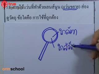 ข้อสอบวิทย์ เข้าม.1 โรงเรียนรัฐบาล ชุดที่ 2 ข้อที่ 13