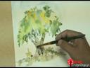 การวาดต้นไม้ ตอน 1